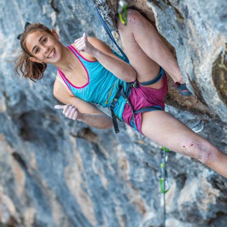 Laura Rogora su Escalamaster 9a foto: Marco Iacono